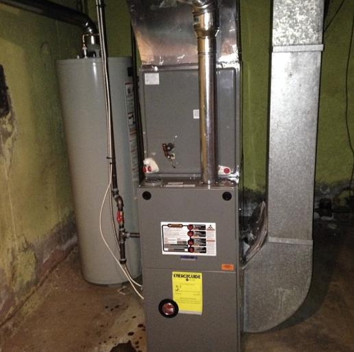 Rheem Gas Furnace Installation In Connecticut Total
