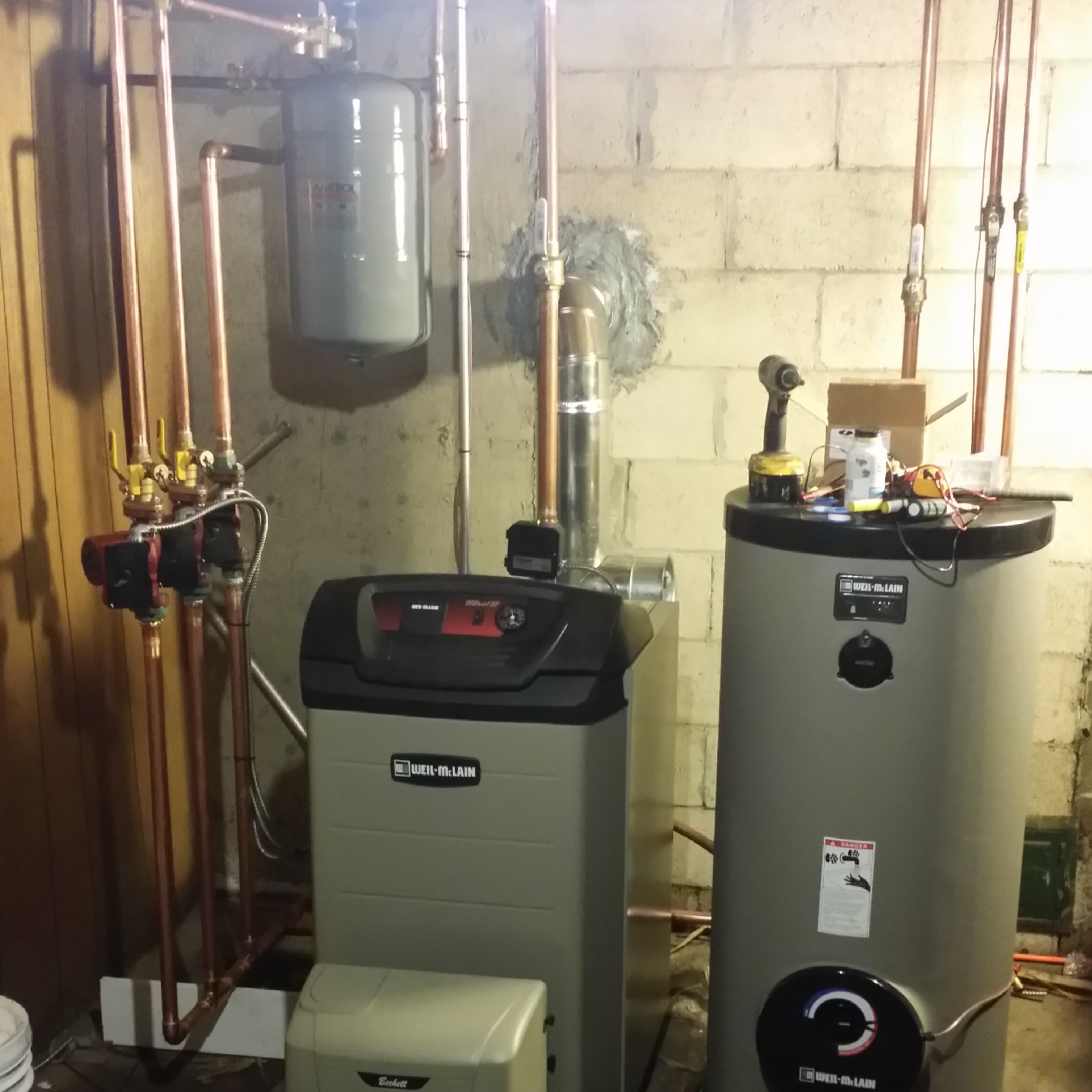 weil-mclain-ultra-oil-boiler-installation | Total Mechanical Systems ...