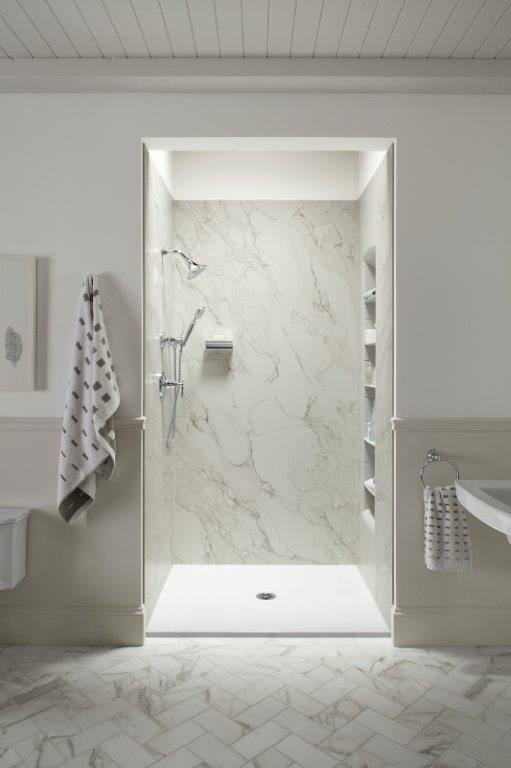 Acrylic Shower Wall Panels 100 Corian Shower Walls Shower With Bathtub Schluter Com Stone