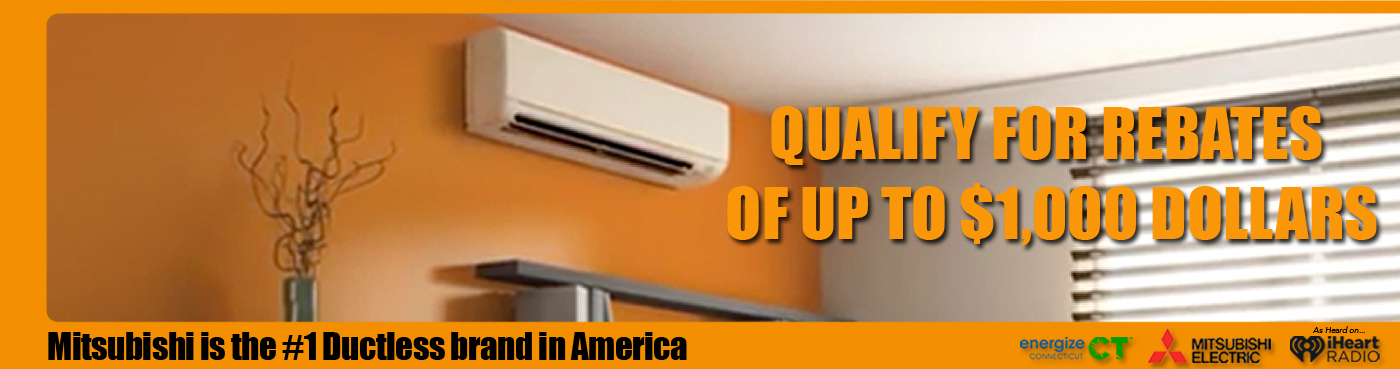mitsubishi ductless air energize ct 1000 rebate deal