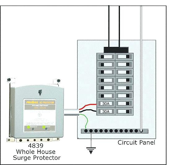 Whole House Surge Protector: Whole House Surge Protector Wiring Diagram At Johnprice.co