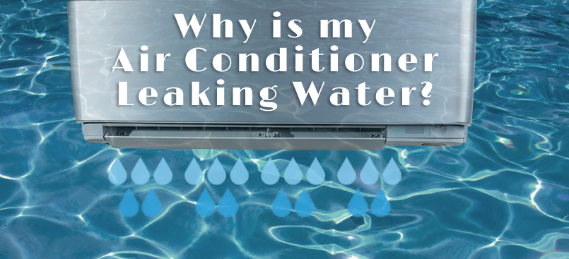 Why is Your A/C Leaking Water? | Total Mechanical Systems, LLC