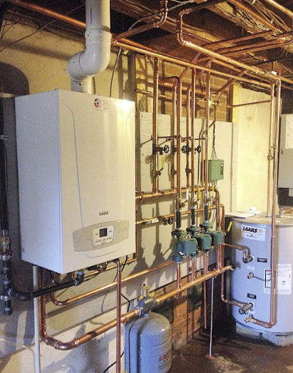 Baxi Oil To Gas Boiler Installation In Connecticut Total